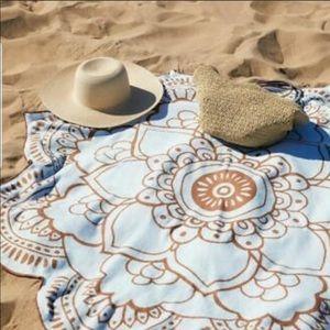 New Lotus Beach Towel Vix Paula Hermanny Swim NWT